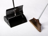 Heavy Duty Plastic Lobby Dustpan (incl Brush)