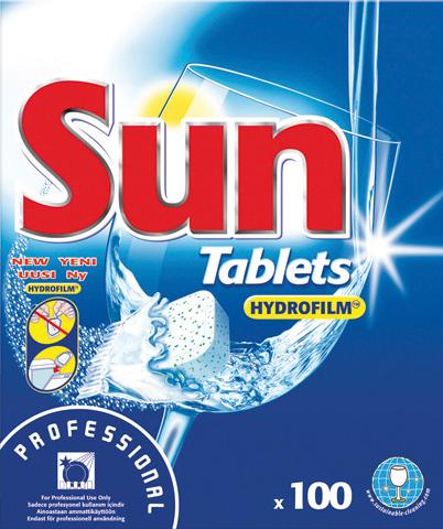 Sun Dishwasher Tablets (100 in Box)
