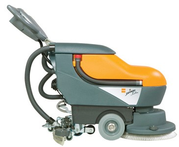Taski Swingo 450 Bms Battery Scrubber Dryer Complete With