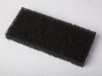 "Octopus Edge Scrub Pads - heavy duty - Black - 114 x 255mm (41/2"" x 10"")"