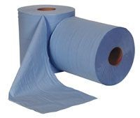 Blue Centre Feed Rolls Twin Ply