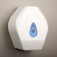 Mini Jumbo Roll Toilet Tissue Dispenser