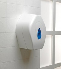 Medium Jumbo Roll Toilet Tissue Dispenser