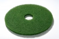 "GM Superpads Green - Scrubbing - Heavy duty wet scrubbing. Removes surface coat, ground in dirt and scuff marks 17"" Pad Diameter"