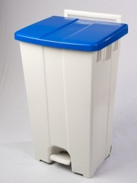 Polar Mobile Waste Bin - pedal operation