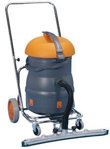 Taski Vacumat 22T Wet and Dry Tub Vacuum Cleaner Complete with Trolly & fixed Floor Squeegee