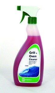 Grill and Oven Cleaner 750ml - Cuts Through Fat, Grease And Burnt On Grime, Interiors and Exteriors
