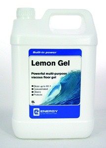 Lemon Gel 5L - Powerful Multi-Purpose Vicous Floor Gel