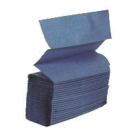 Blue Z Fold Single Ply Towel 3000 per case