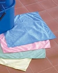 Affordable Colour Coded Microfibre Cloth (4 Colours)