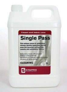 Single Pass 5L - Carpet And Fabric Care Cleaning
