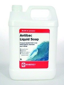 Antibac' Liquid Soap 5L - Luxury Bactericidal Soap Which Gently Cleanses Your Hands